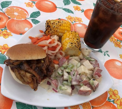 Monday, July 29: Mid-Summer Vegan Barbeque